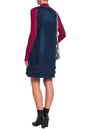 LOVE MOSCHINO Denim mini dress