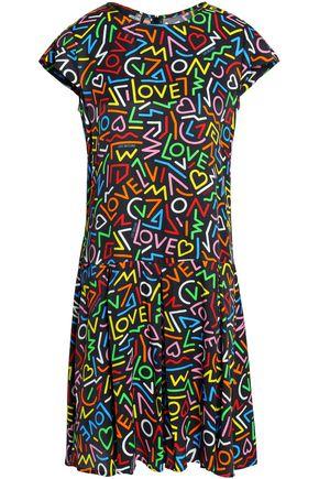 LOVE MOSCHINO Jacquard mini dress
