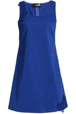 LOVE MOSCHINO Stretch-cotton mini dress