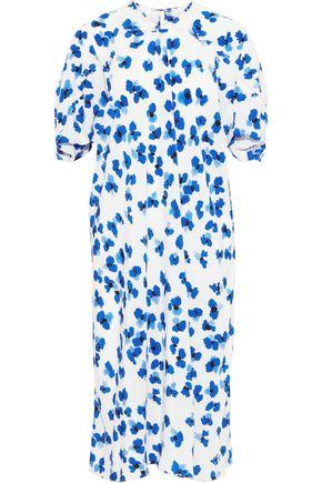 LEMAIRE Floral-print silk crepe de chine dress