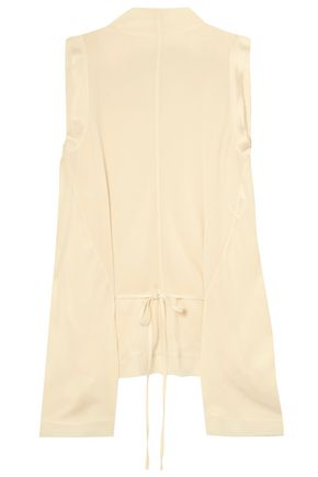 CHLOÉ Crepe turtleneck top