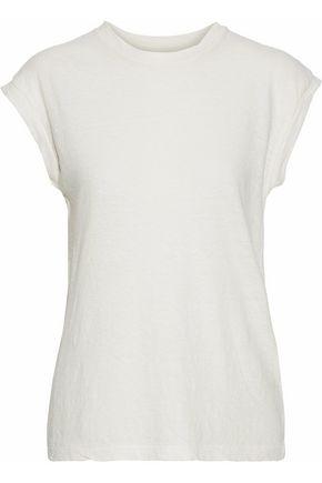 SIMON MILLER Kechi textured cotton-jersey top