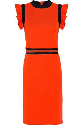 BAUM UND PFERDGARTEN Jasey ruffle-trimmed cotton dress