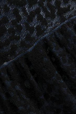 SONIA RYKIEL Bouclé cotton-blend midi dress