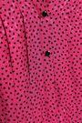 VANESSA SEWARD Cropped pleated printed jacquard jumpsuit
