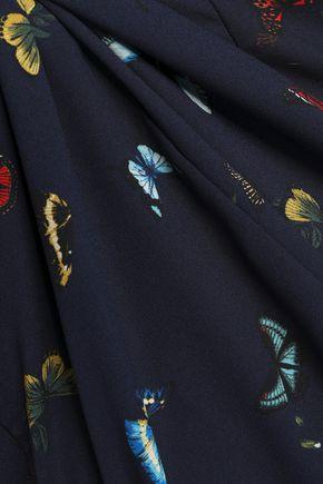 JOIE Peri printed crepe mini dress