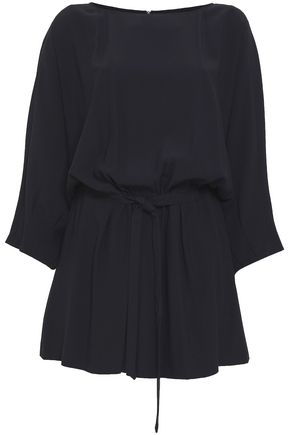 VANESSA SEWARD Satin-crepe playsuit