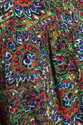 VANESSA SEWARD Printed crepe de chine top