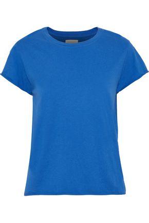 SIMON MILLER Rowe cotton-blend jersey T-shirt