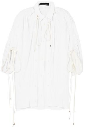 Y/PROJECT Plissé-voile shirt