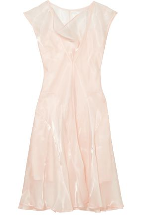 ADEAM Organza midi dress