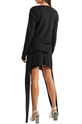 J.W.ANDERSON Asymmetric wool mini dress