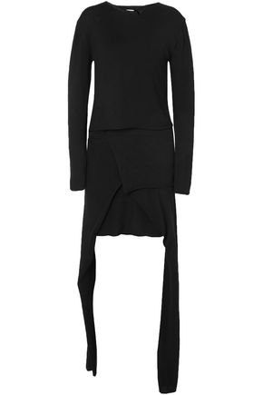 J.W.ANDERSON Asymmetric wool mini dress