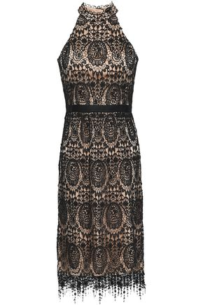 CATHERINE DEANE Katan lace dress
