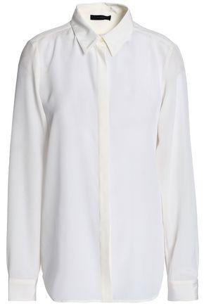 BELSTAFF Silk-crepe de chine shirt