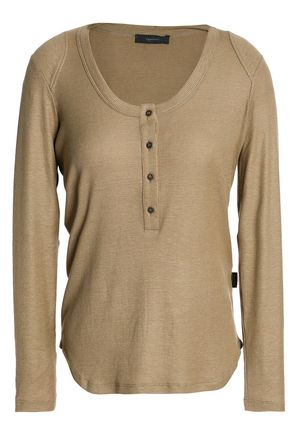 BELSTAFF Ribbed stretch-jersey top