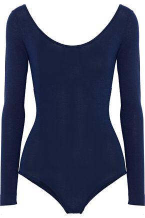 MILLY Stretch-jersey bodysuit