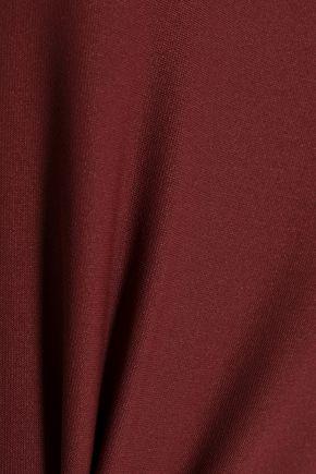 ALIX Cold-shoulder stretch-knit bodysuit