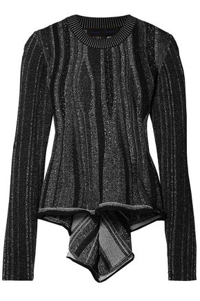 PROENZA SCHOULER Draped stretch-knit top
