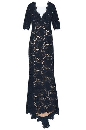 CATHERINE DEANE Corded lace gown
