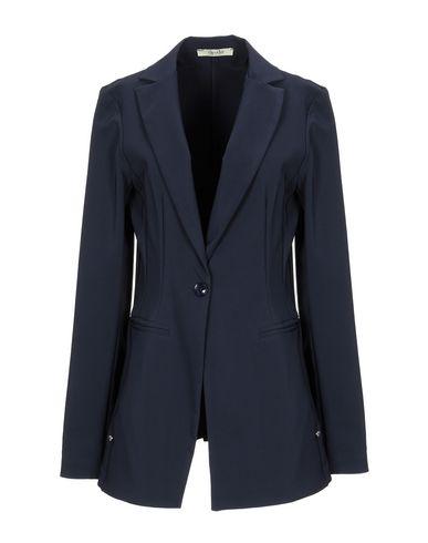 Фото - Женский пиджак NO-NÀ темно-синего цвета