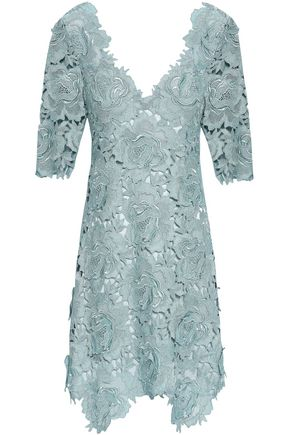 CATHERINE DEANE Kaya corded lace mini dress