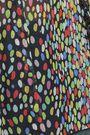 MARCO DE VINCENZO Ruffled printed silk-georgette blouse