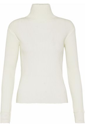 SIMON MILLER Ramos ribbed cotton-blend turtleneck sweater