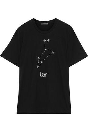 MARKUS LUPFER Alex embellished cotton-jersey T-shirt