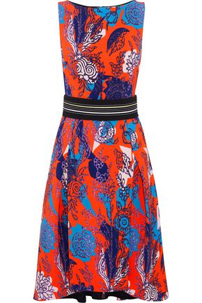 PETER PILOTTO Floral-print cady dress