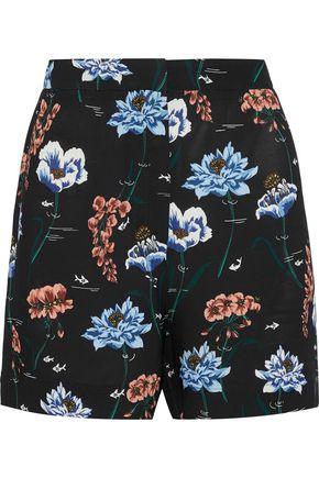 MARKUS LUPFER Printed crepe shorts