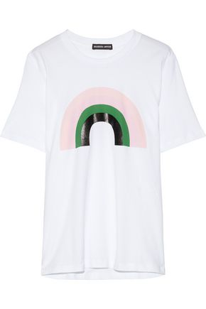 MARKUS LUPFER Alex printed cotton-jersey T-shirt