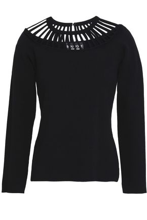 BOUTIQUE MOSCHINO Cutout knitted top