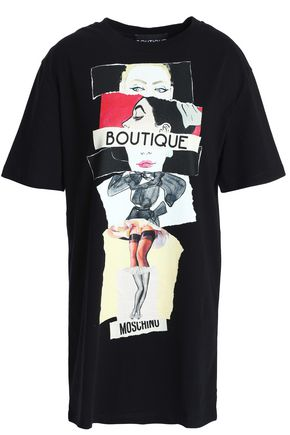 BOUTIQUE MOSCHINO Printed cotton-jersey T-shirt