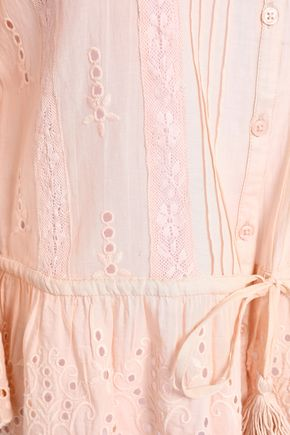 LOVE SAM Broderie anglaise voile top