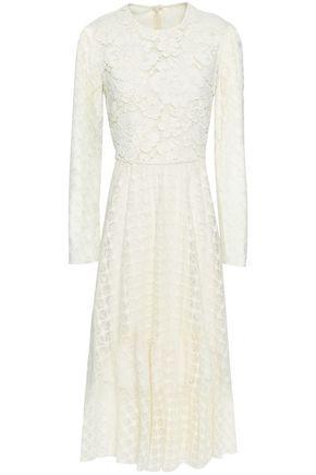 PHILOSOPHY di LORENZO SERAFINI Paneled corded lace midi dress