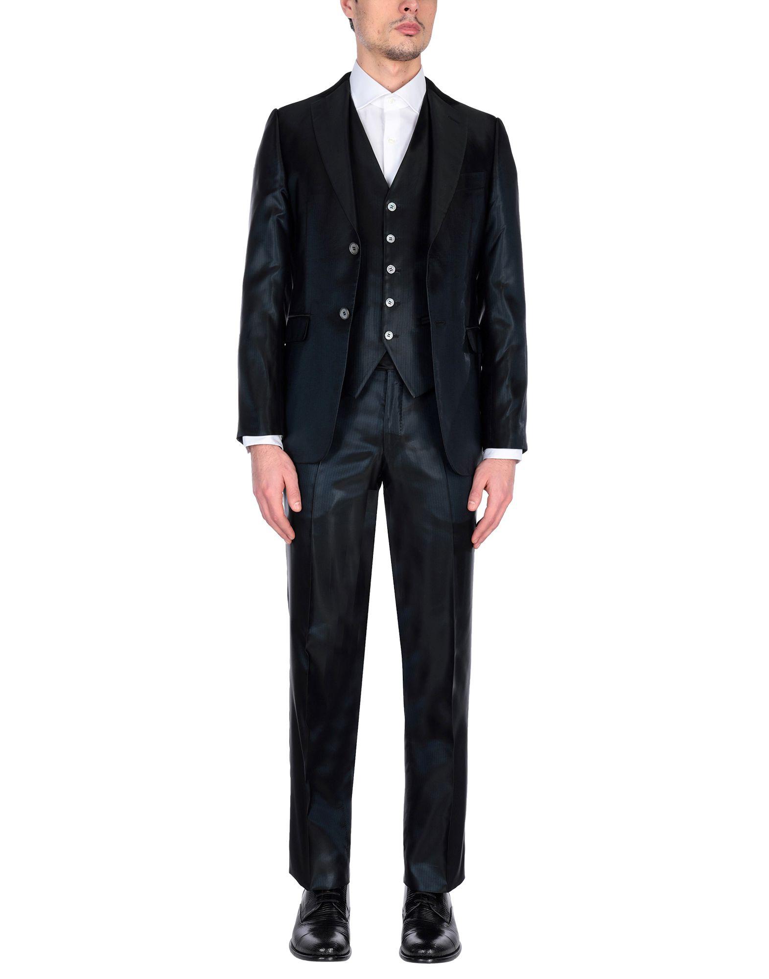 《セール開催中》PAL ZILERI CERIMONIA メンズ スーツ ブラック 52 アセテート 100%