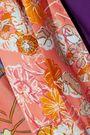 PETER PILOTTO Wrap-effect floral-print satin dress