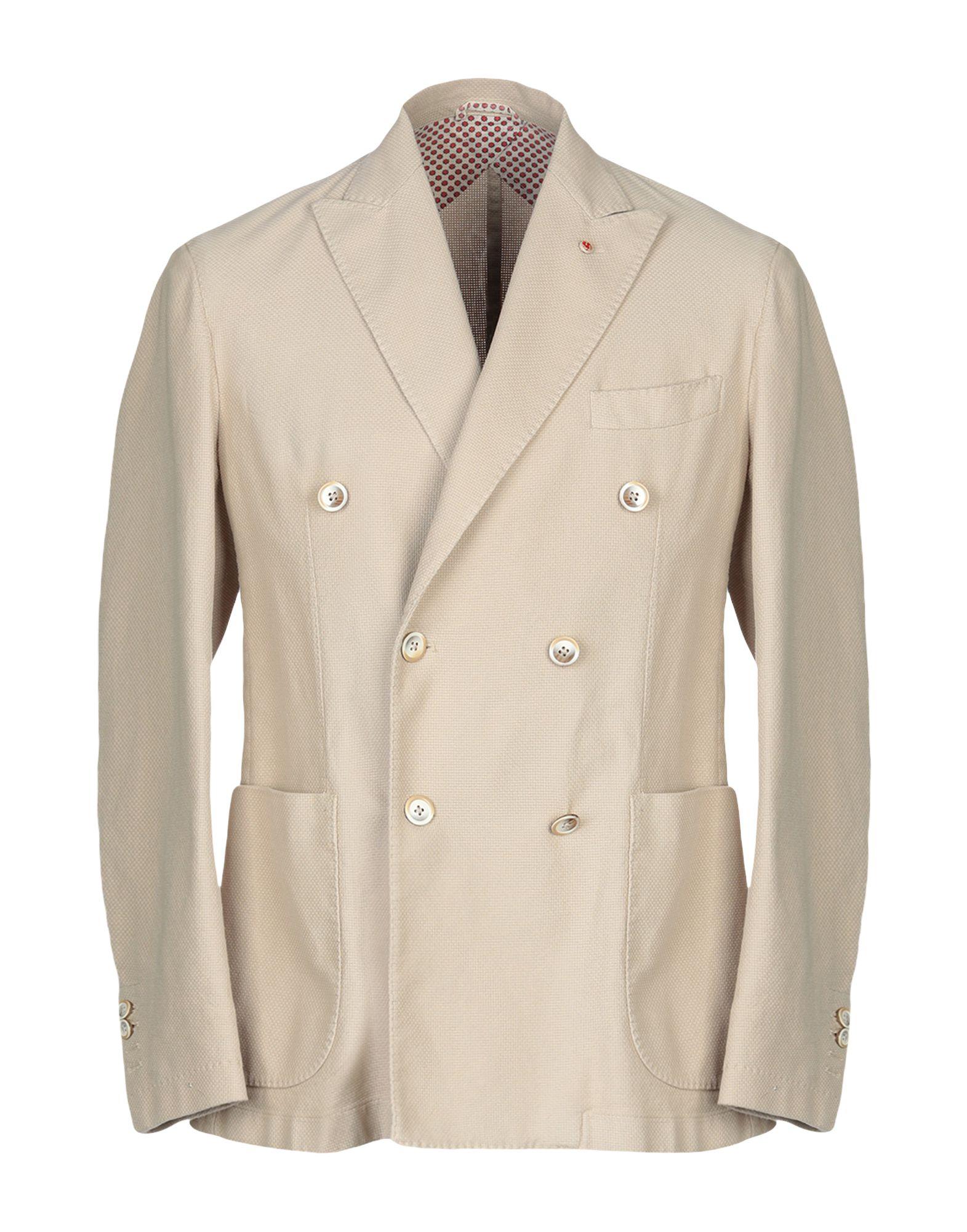 《送料無料》JERRY KEY メンズ テーラードジャケット ベージュ 48 コットン 100%