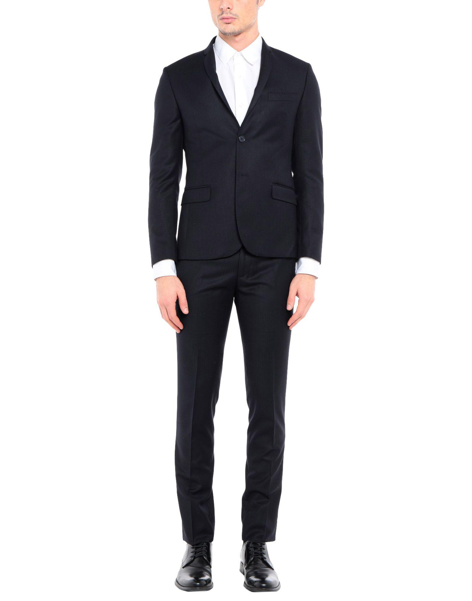 《セール開催中》EN AVANCE メンズ スーツ ダークブルー 46 ポリエステル 70% / レーヨン 30%