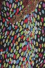 MARCO DE VINCENZO Lace-trimmed printed silk-georgette camisole