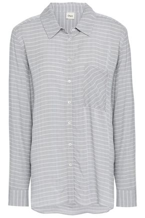 CHARLI Vivienne striped jacquard shirt