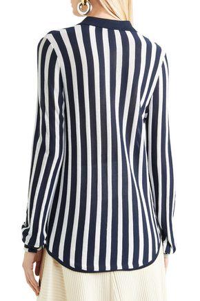 GABRIELA HEARST Carter striped wool shirt