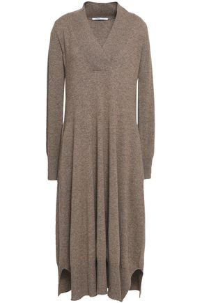 AGNONA Mélange cashmere midi dress