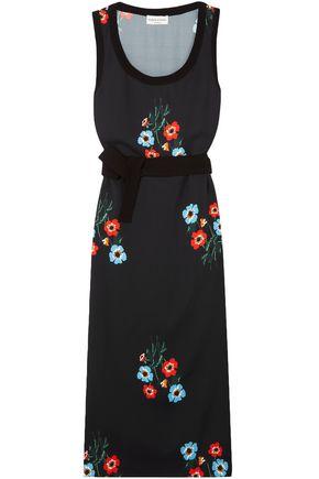 SONIA RYKIEL Floral-print crepe midi dress