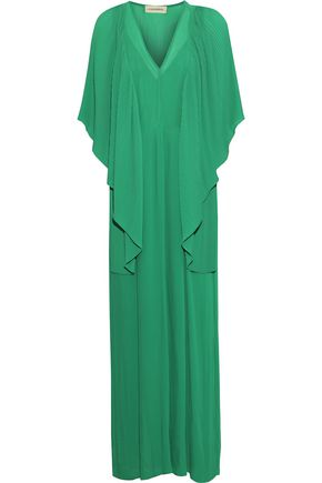BY MALENE BIRGER Plissé-georgette gown