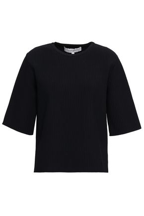 CAROLINA HERRERA Ribbed-knit top