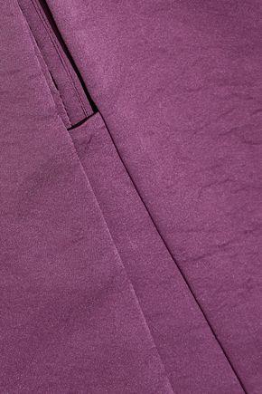 NARCISO RODRIGUEZ Cutout silk-taffeta tunic