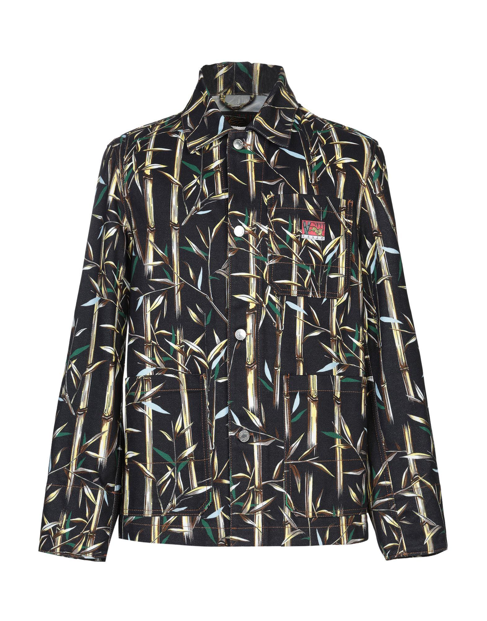 KENZO Джинсовая верхняя одежда цена 2017