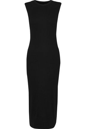 ENZA COSTA Stretch-cotton jersey midi dress